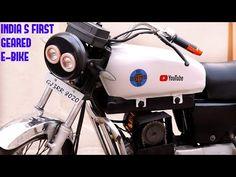 How to convert old petrol bike to geared electric bike Bike India, S Youtube, Power Motors, Optima Battery, Bike Kit, Car Cleaning Hacks, India First, Clean Your Car, Commuter Bike