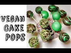 Cake Pop Tutorial (Vegan)