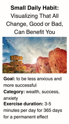 Be less anxious and more successful