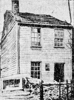 Photo of childhood home of Andrew Carnegie, Reedsdale Street on the Northside of Pittsburgh. DB
