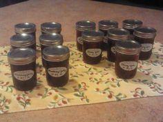 Blackberry jelly & cherry jam May 2012