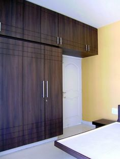 This article is called some nice ideas about bedroom cupboards design.This article is called some nice ideas about bedroom cupboards design.Bedroom Cupboard Decoration Ideas Door handle minimalist cupboards 35 ideas for 2019 This article is Best Wardrobe Designs, Wardrobe Design Bedroom, Bedroom Bed Design, Bedroom Furniture Design, Closet Designs, Modern Bedroom, Sliding Wardrobe Designs, Bedroom Ideas, Wood Bedroom