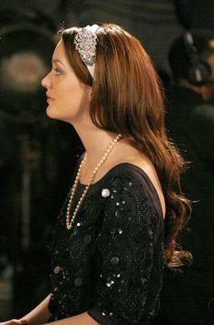 Foley + Corinna dress.  Jennifer Behr headband.