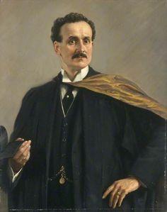 Portrait of David Davies (1871–1931), MSc, FGS, 1922 by Margaret Lindsay Williams 1888–1960 Nationality: British