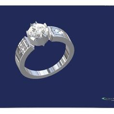 Batman Setting Engagement Ring... made by Lucas Horton Starting at: $475