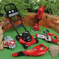 Play tools for the yard