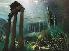 Lost Cities Found Underwater | Google Earth Found The Lost City of Atlantis
