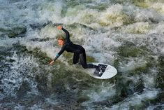 The waves on the Eisbach river at the entrance to the Englischer Garten attract surfers from all around the world. The spot is famous throughout the world for being the largest, best and most consistent city centre location for river surfing. #surf #surfing #riversurfing #munich #bavaria #germany #xtreme #sports #surfboard #wave #waves #münchen #deutschland #photography #fineart Throughout The World, Around The Worlds, Bavaria Germany, Canary Islands, Surfers, Tenerife, Munich, Fine Art Photography, Surfboard