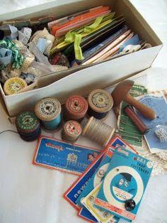 Sew Useful Designs: Vintage treasures