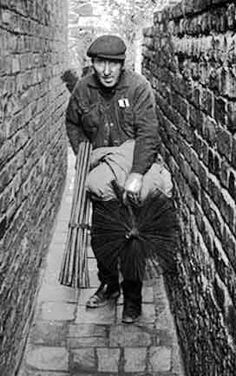 Victorian Era Chimney Sweeps: Many men at the time had to leave their families day and night to work as chimney sweepers. The emotional value of their clothing, old and black with smoke, is a glimpse of the hard times that the working class had to experience in London during the Victorian Era
