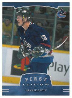 Henrik Sedin # 27 - 2002-03 BAP First Edition Hockey