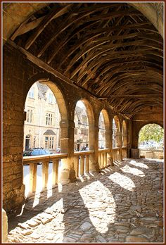 The old market Chipping Campden built in 1624.   (Jade Ching)
