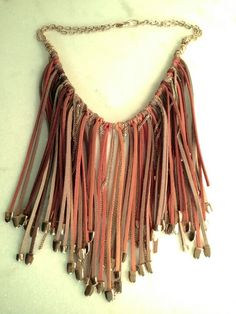 Colar Couro / Necklace Couro