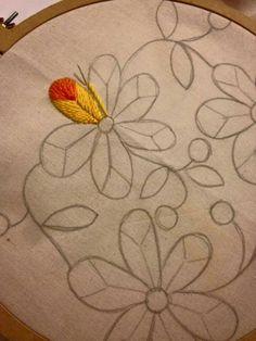 Items similar to French Linen Hand Embroidered Tablecloth Hand Embroidery Flowers, Hand Embroidery Stitches, Embroidery Techniques, Machine Embroidery Designs, Embroidery Patterns, Mexican Embroidery, Crewel Embroidery, Brazilian Embroidery, Needlework