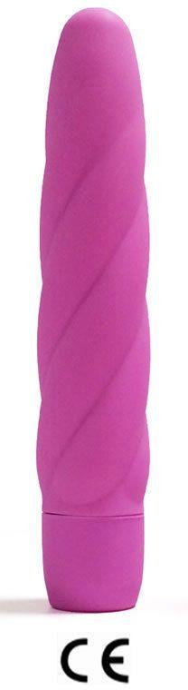 vibrator#pink#18 cm silicon