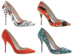 Lovely fine piping detail on these summer shoes from J Crew and Sophia Webster! Stiletto Heels, High Heels, Sophia Webster Shoes, Ballerina Flats, Summer Shoes, Designer Shoes, Ideias Fashion, Christian Louboutin, J Crew
