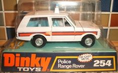 Dinky Toys Police Land Rover