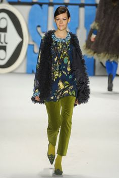 Anna Sui Fall 2012 Collection
