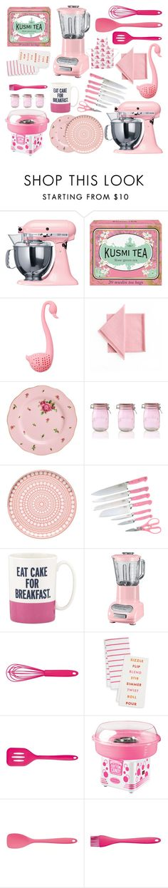 """Untitled #91"" by titaaz on Polyvore featuring interior, interiors, interior design, home, home decor, interior decorating, KitchenAid, Kusmi Tea, Sunnylife and Royal Albert"