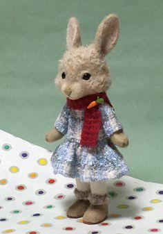 【注目!】名古屋のNHK文化センターで、ウサギちゃんが作れます - 羊毛倉庫の日々