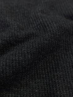 Mini Waffle Jersey - Not Quite Black Tie – Sitka Fabrics