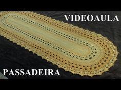 Passadeira em crochê Luiza - YouTube