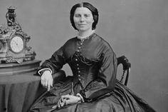 Clara Barton biography: profile of Clara Barton, including her famed Civil War service organizing nursing services and supplies, and her work to found the American Red Cross.