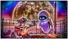 WALL-E by Henstepbatbot Wall E, Digital Art, Portrait, Painting, Headshot Photography, Painting Art, Portrait Paintings, Paintings, Painted Canvas