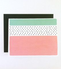 Thick Stripes Card