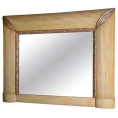 1stdibs | Art Deco Period Painted Mirror from Skelton - St. John
