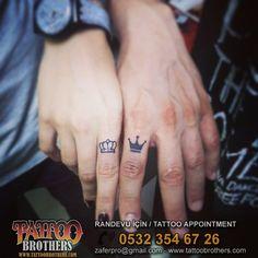 Parmak Taç Dövmesi - Tattoo By Tattoobrothers Dövme Stüdyosu Moda / Kadıköy GSM:0532 354 67 26