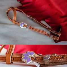3/4 inch sliding ear headstall with silver overlay buckle. Perfect for the little girl on Christmas morning who already has the perfect horse ;) $135.00 #customleather #cowboygear #cowgirlchristmas #handmade #smallbiz
