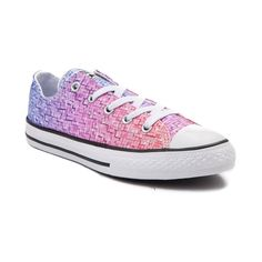 7d02bc278711 Youth Tween Converse Chuck Taylor All Star Lo Pixel Fade Sneaker
