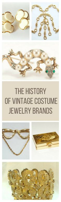 Here's some fun facts about vintage costume jewelry and why you should have one.