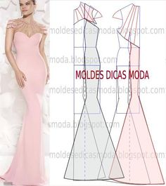 Off Black Friday Sale Starts & Ends Use Discount Code: Evening Dress Patterns, Dress Sewing Patterns, Clothing Patterns, Evening Dresses, Fashion Sewing, Diy Fashion, Ideias Fashion, Diy Clothing, Sewing Clothes