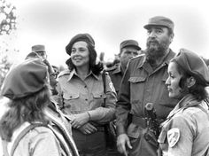 Vilma Espin, Cuba's unofficial First Lady, by Fidel Castro, 1959