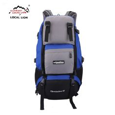 LOCALLION 2017 Outdoor Sports Bag Mountaineering Backpacks Hiking Camping  rucksack Men Women Travel bags Laptop Backpack c81a0d4ae05fe