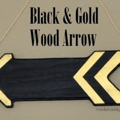Black & Gold Wood Ar