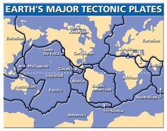 Plate Tectonics - This looks like a great example of the plates.