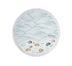 Oceanic Petite Round Towel - The Beach People