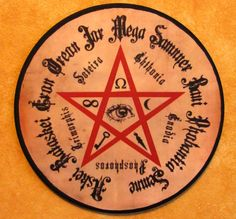 Hekate Sigil Wall Plaque by TheMadPlaquer on Etsy, $12.00