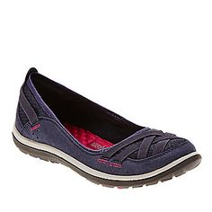 Clarks Aria Pump Slip Ons :: Casual Shoes :: Shop now with FootSmart