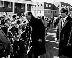 Senator Joe Biden, and son Beau Biden at Return Day, Georgetown, Delaware.