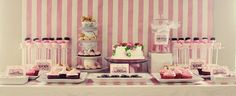 Neat ideas and tablescapes for girl birthday parties