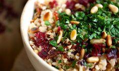 """Blomkål""""couscous""""salat"""