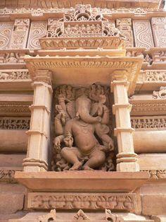 Khajuraho Temple in Khajuraho, India