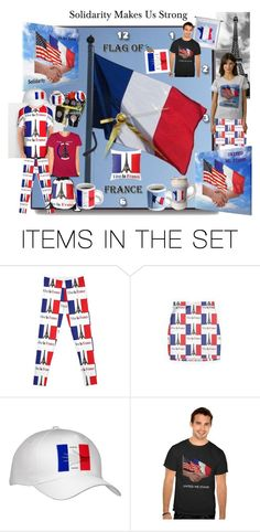 #Solidarity for #Peace with #USA and #France by #sandyspider on #Polyvore #Zazzle #Redbubble #society6