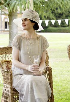 Lady Mary...I miss Downton Abbey