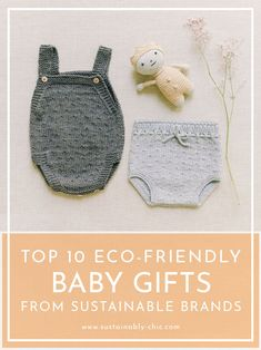 Buying gifts for babies has to be one of my favorite things. It's so much fun spoiling the newborns in the family, but I can be super picky about what I purchase for them. I'm always the one going through the baby registry trying to find the eco-friendly products, and I've been known to divert from the list… sorry, not sorry. #sustainablebabygifts #babygifts #ethicalbabygifts #baby #gifts