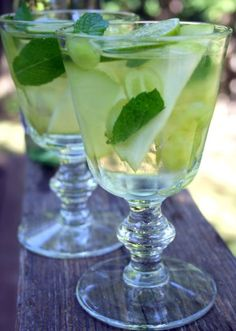 White & Green Sangria